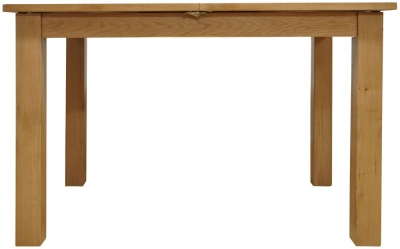 Newton Oak Dining Table - 1.2m Butterfly
