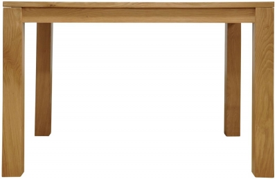 Newton Oak Dining Table - Large Fixed Top