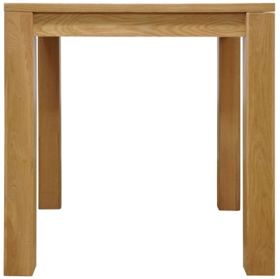 Newton Oak Dining Table - Small Fixed Top