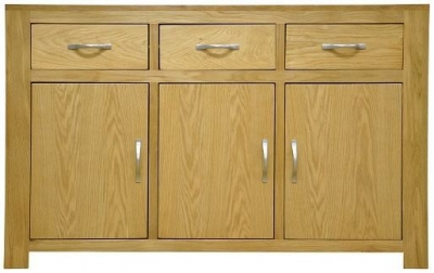 Newton Oak Sideboard - 3 Door