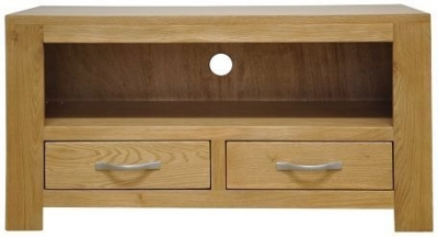 Newton Oak TV Unit - Standard