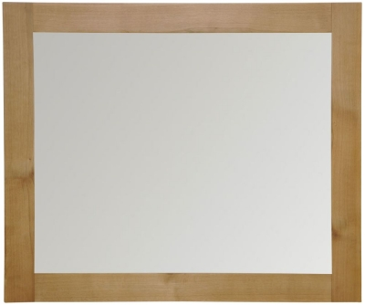 Newton Oak Wall Mirror - Large