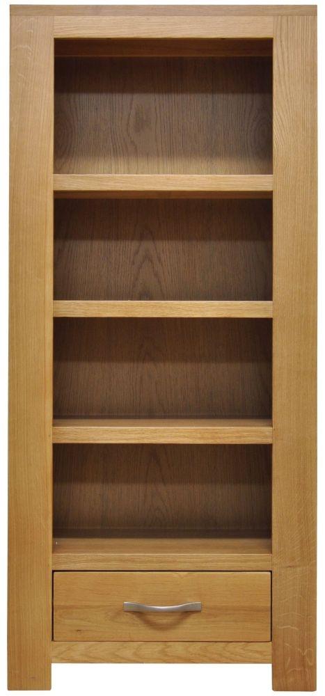 Newton Oak CD DVD Cabinet