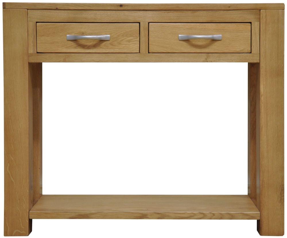 Newton Oak Console Table
