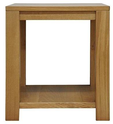 Newton Oak Lamp Table