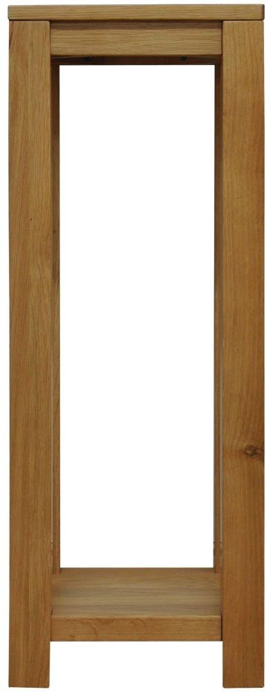 Newton Oak Side Table - Tall