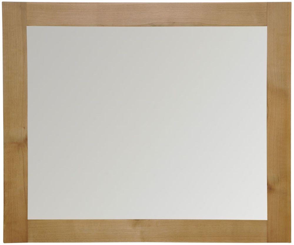 Newton Oak Wall Mirror - Large