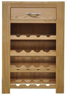Newton Oak Wine Cabinet