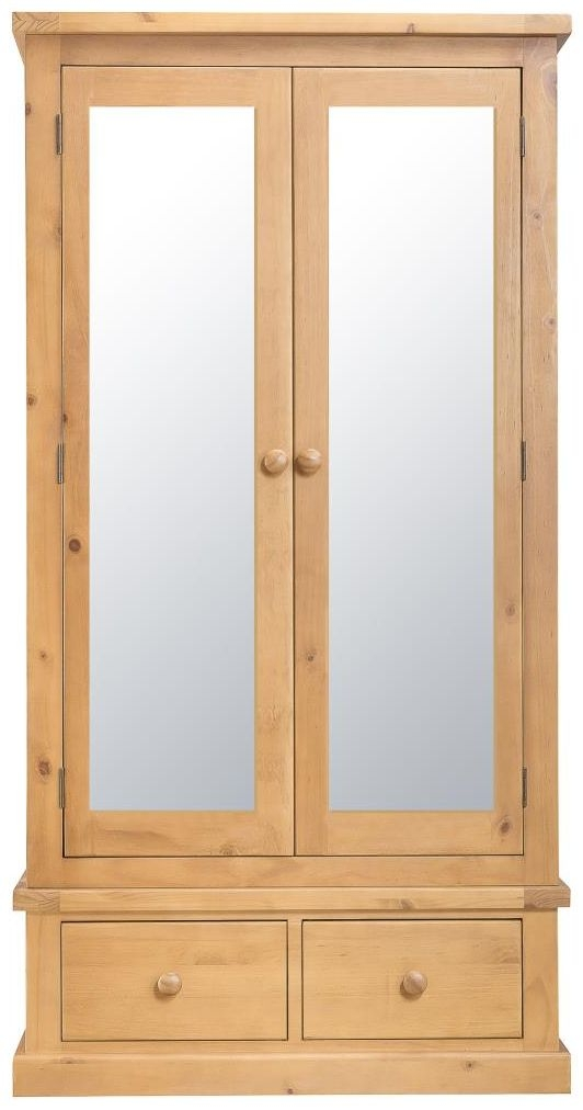 Oakley Pine Double Wardrobe - Large