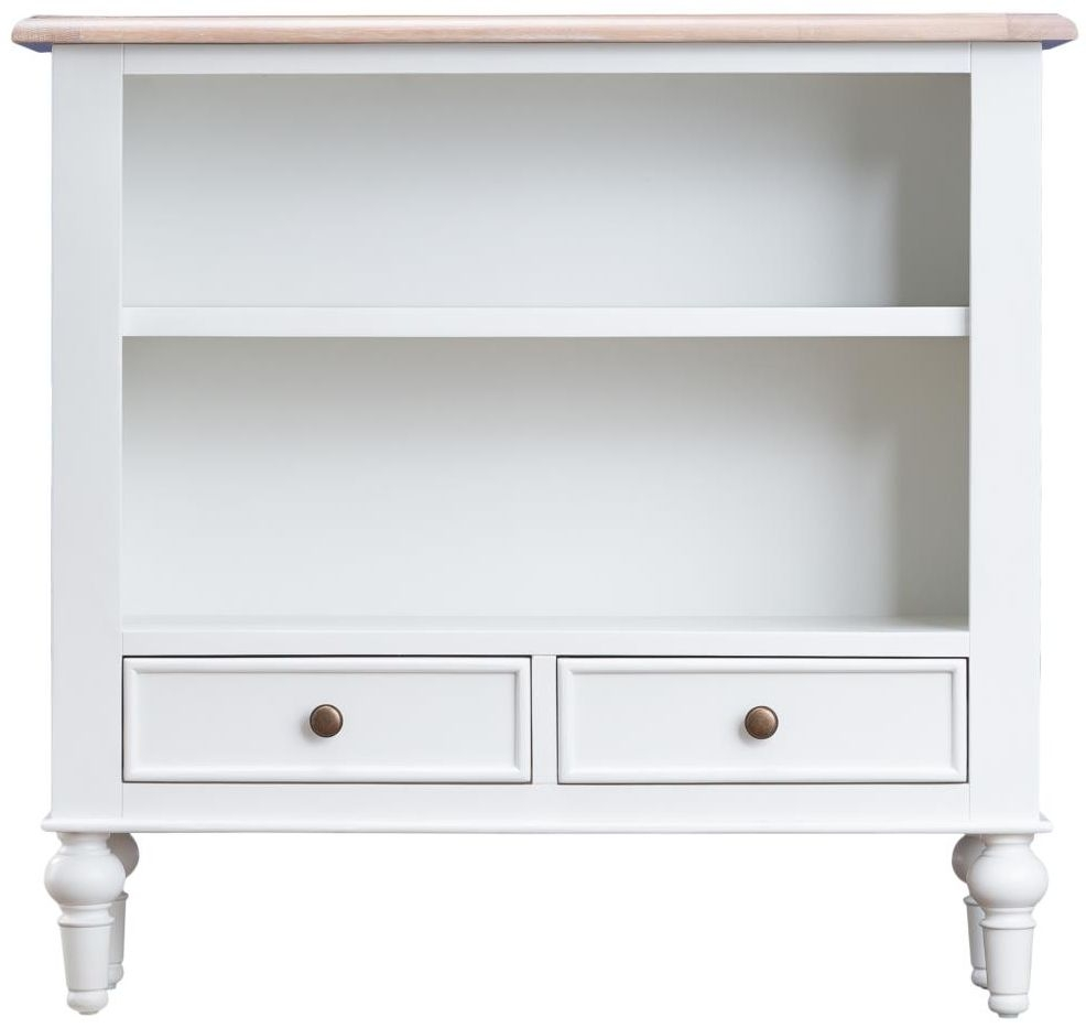 Penelope Painted Bookcase - Small Wide