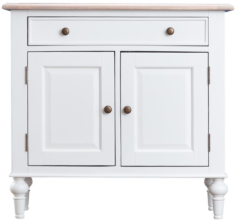 Penelope Oak and White Painted Sideboard - Small