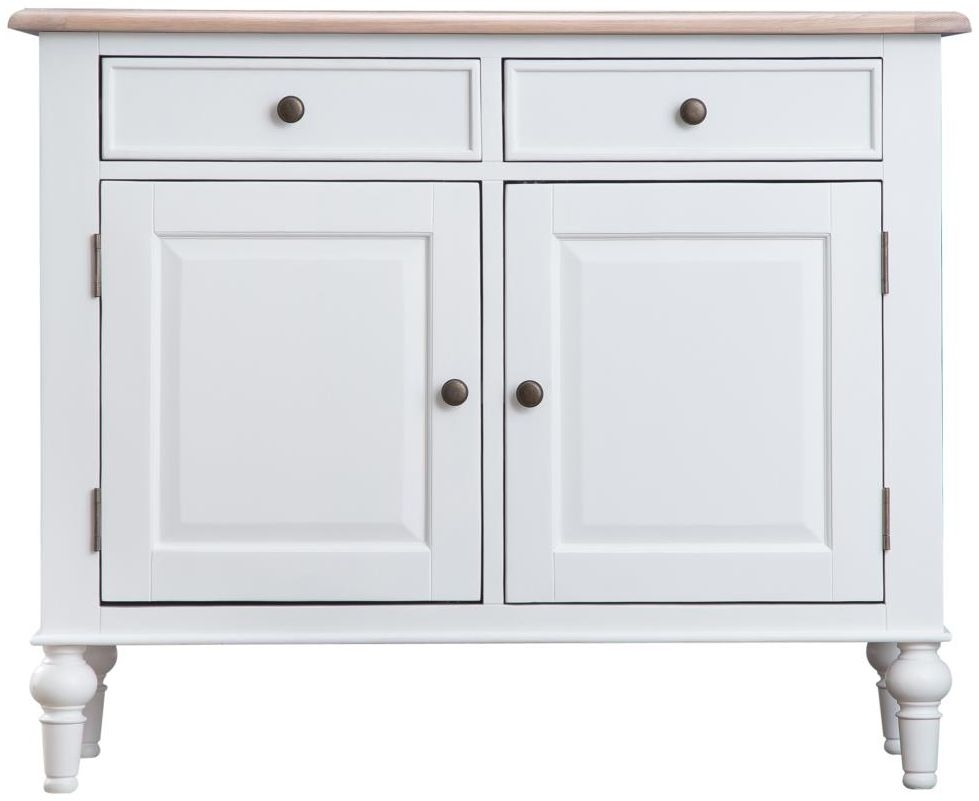 Penelope Oak and White Painted Standard Sideboard