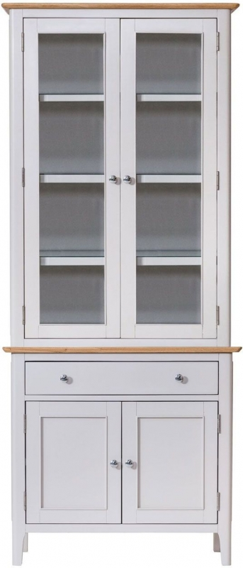 Shore Dresser - Oak and Dove Grey Painted