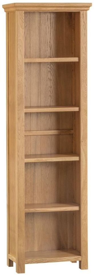 Sidmouth Natural Oak Large Bookcase