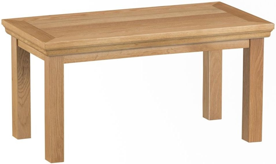 Sidmouth Natural Oak Small Coffee Table