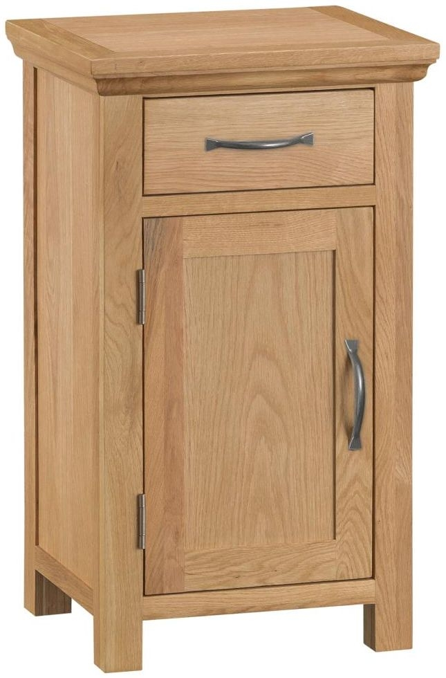 Sidmouth Natural Oak Small Cupboard