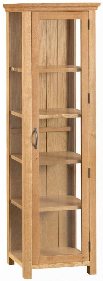 Sidmouth Natural Oak Display Cabinet