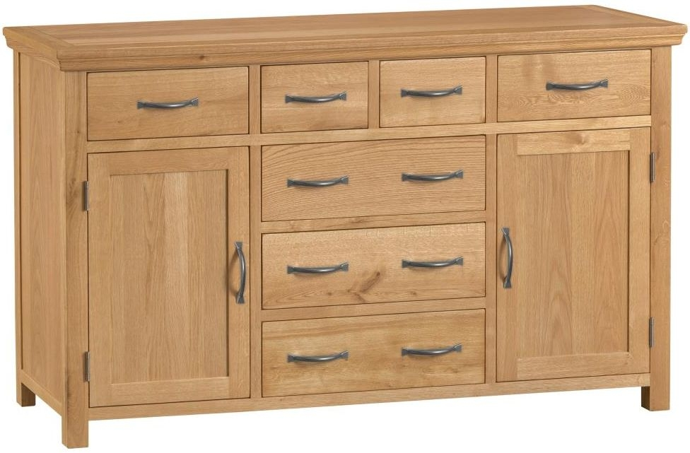 Sidmouth Natural Oak Sideboard - Large