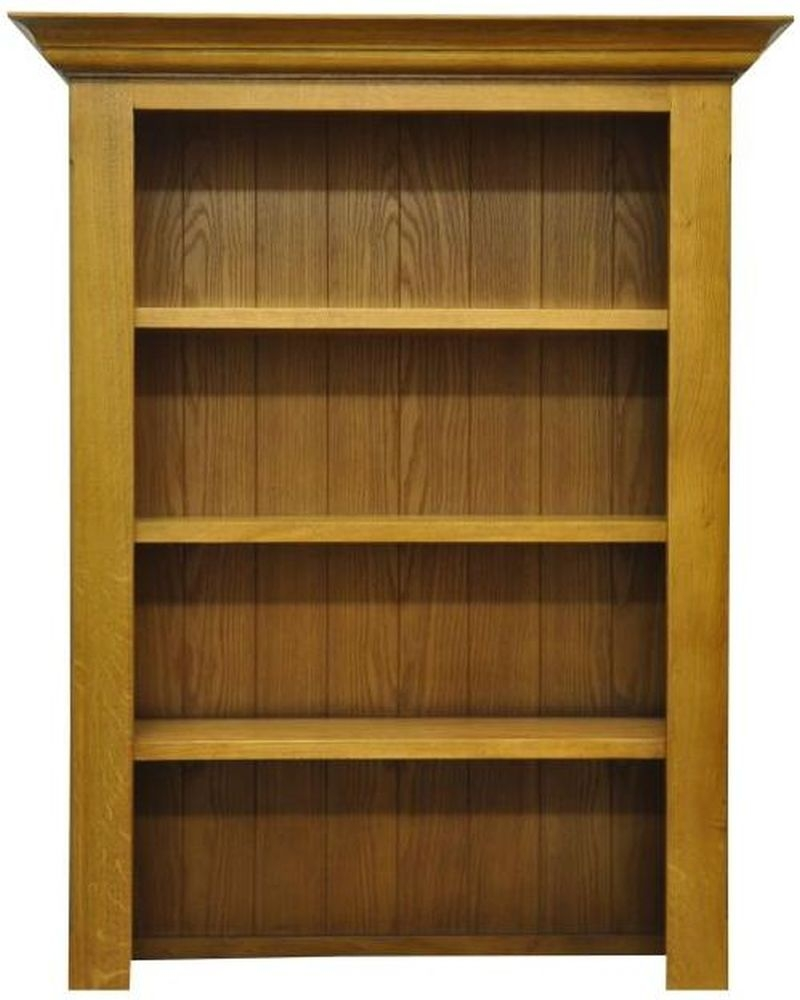 Tewksbury Oak Small Bookcase Top
