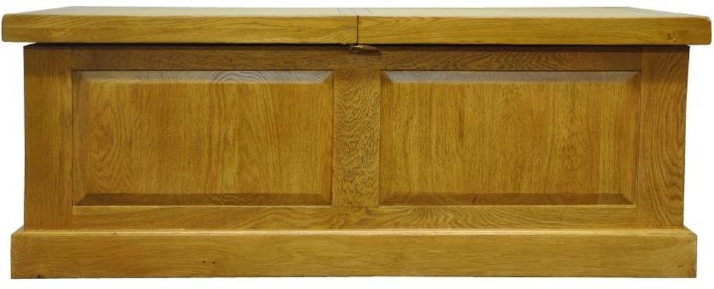 Tewksbury Oak Box Storage Coffee Table