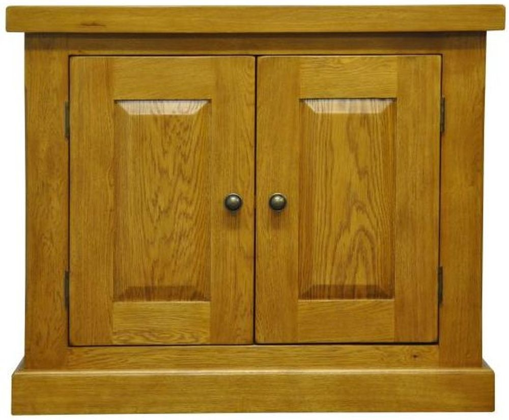 Tewksbury Oak 2 Door Small Cupboard