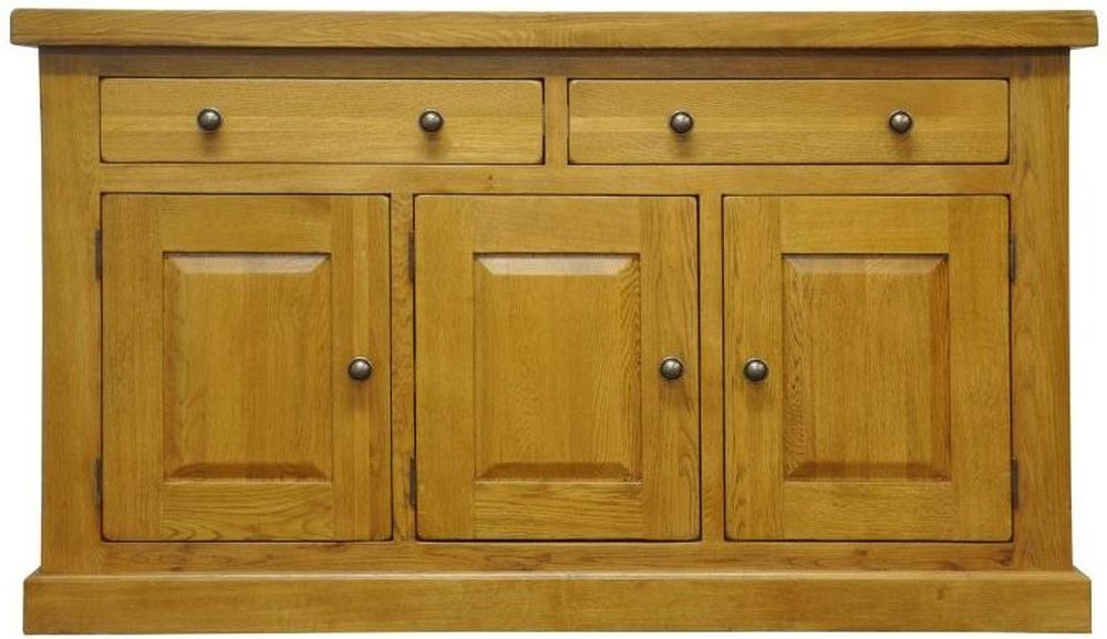 Tewksbury Oak 3 Door 2 Drawer Wide Sideboard