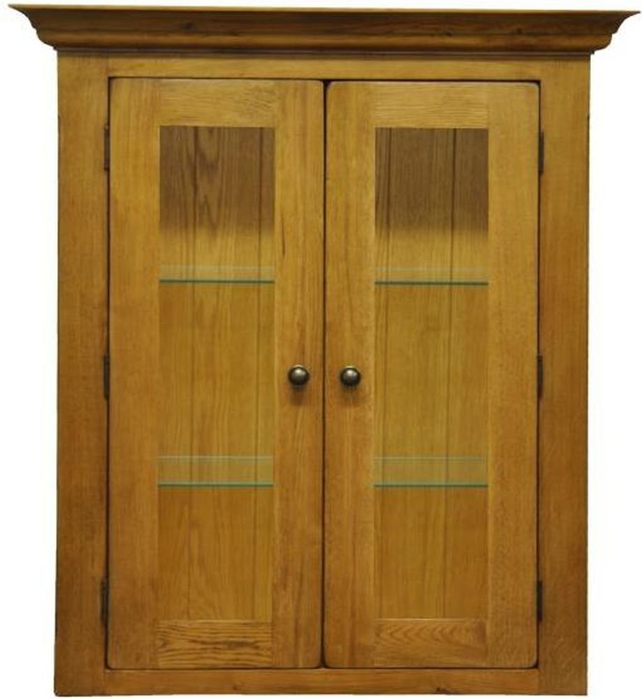Tewksbury Oak Top 2 Door Narrow Sideboard