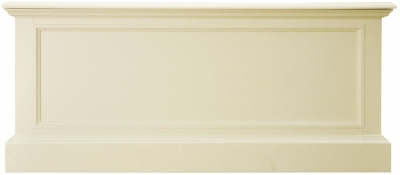 Toulouse Off White Painted Pine Blanket Box