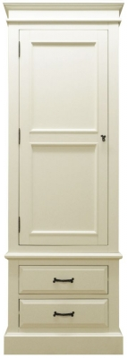 Toulouse Painted Pine Wardrobe - Single