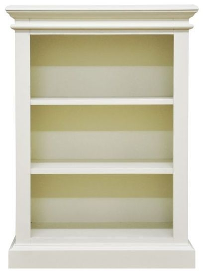 Toulouse Off White Painted Pine Bookcase - Small