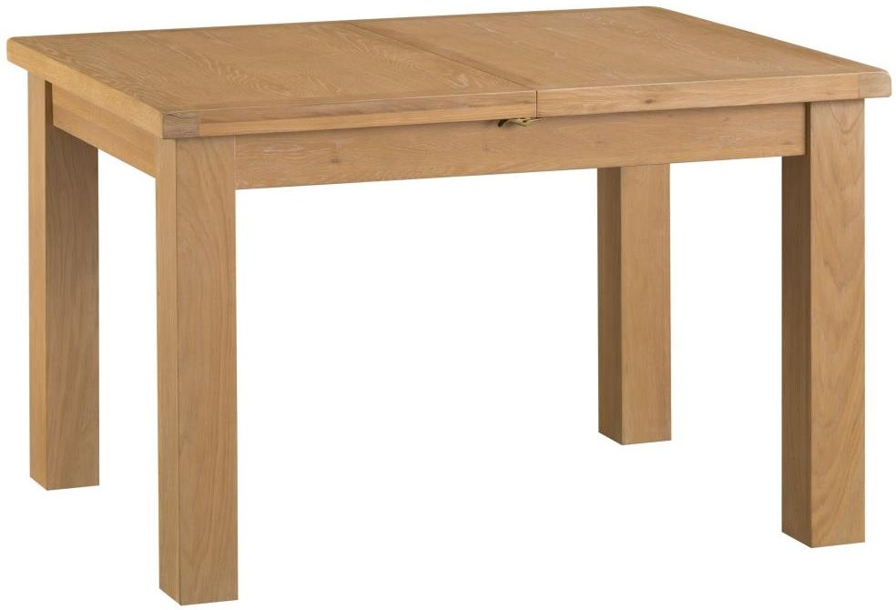 Tucson Oak Medium Butterfly Extending Dining Table