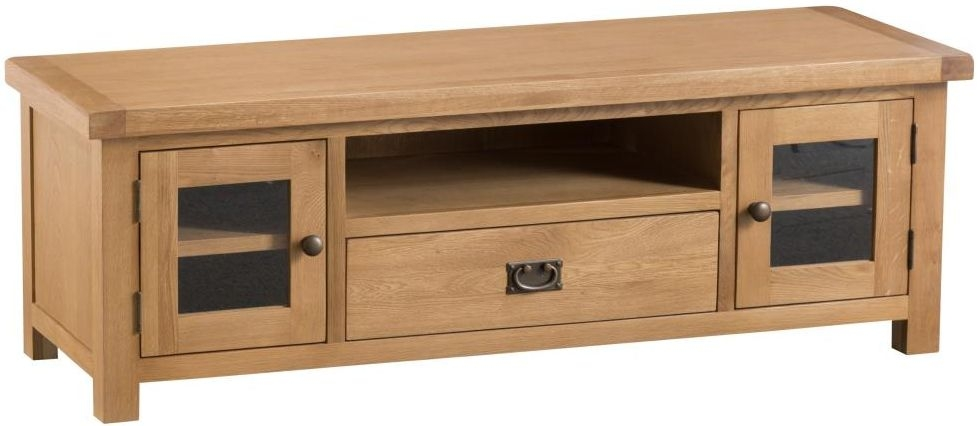 Tucson Oak Large TV Unit