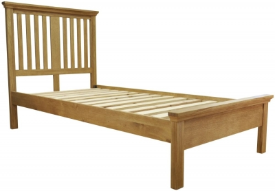 Weardale Oak Bed - 3ft Single