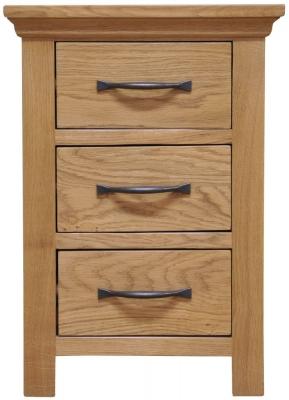 Weardale Oak Bedside Cabinet - Large