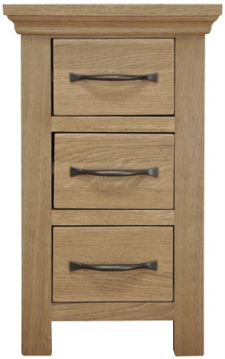 Weardale Oak Bedside - Narrow
