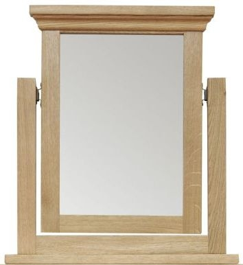 Weardale Oak Trinket Mirror