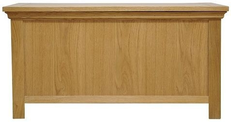 Weardale Oak Blanket Box