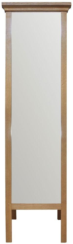 Weardale Oak Cheval Mirror
