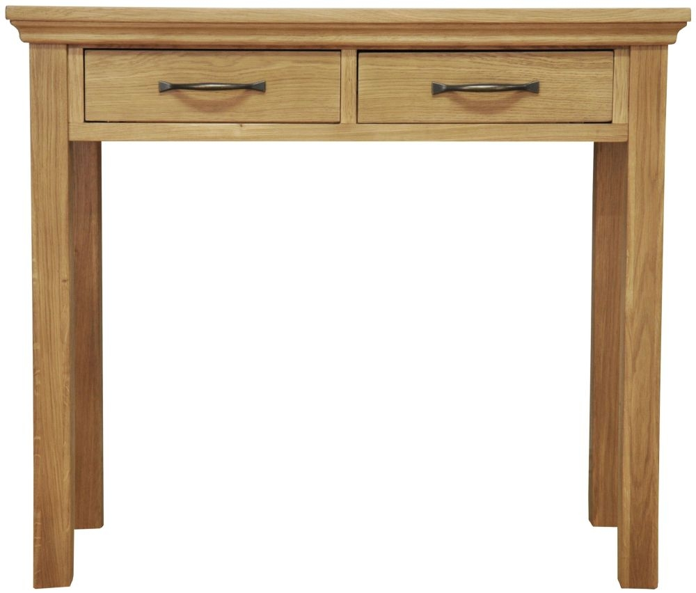 Weardale Oak Dressing Table