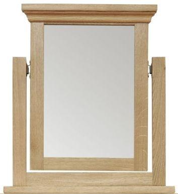Weardale Oak Trinket Mirror