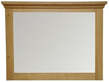 Weardale Oak Wall Mirror - Small