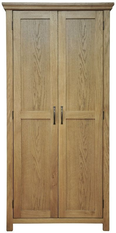 Weardale Oak Wardrobe - Full Hanging Double