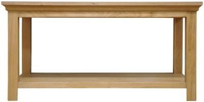 Weardale Oak Coffee Table - Medium
