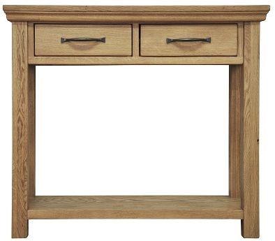 Weardale Oak Console Table