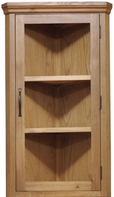Weardale Oak Cupboard - Top Corner