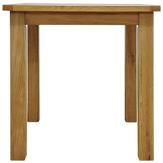 Weardale Oak Dining Table - Small Fixed Top