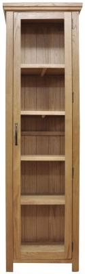 Weardale Oak Display Cabinet