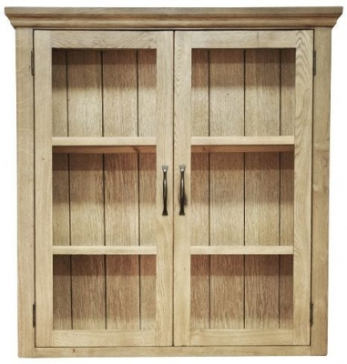 Weardale Oak Dresser Top - Standard