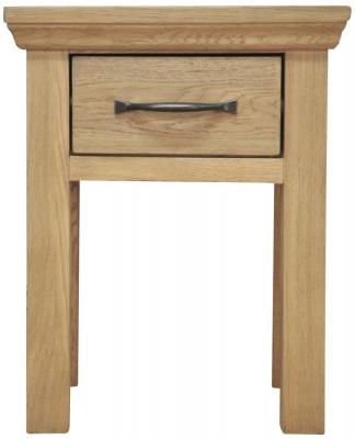 Weardale Oak Lamp Table
