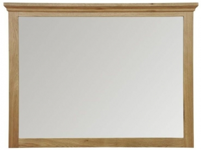 Weardale Oak Wall Mirror - Large